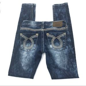 Big Star Jenae Skinny Jeans, Size 25R, EUC